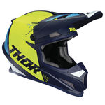 _Casco Thor Sector Shear Azul/Amarillo Flúor | 0110-6252-P | Greenland MX_