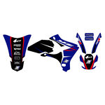 _Kit Adhesivos Blackbird Dream 4 Yamaha YZ 250/450 F 03-05 | 2230N | Greenland MX_