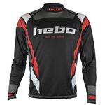 _Jersey Hebo Trial Race Pro III Negro | HE2174N-P | Greenland MX_