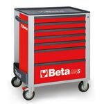 _Cajonera Móvil con 7 Cajones Beta Tools Rojo | C24S-7-R-P | Greenland MX_