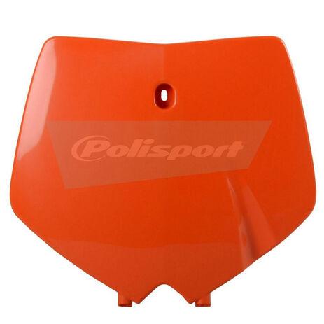 _Placa frontal polisport KTM SX 99-02  naranja | 8660300001 | Greenland MX_