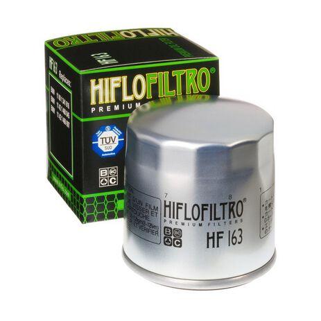 _Filtro de Aceite Hiflofiltro BMW R1150 GS 99-05 Zinc | HF163 | Greenland MX_