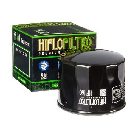 _Filtro de Aceite Hiflofiltro BMW F800 GS 07-18 R1200 R/RS LC 14-18 | HF160 | Greenland MX_