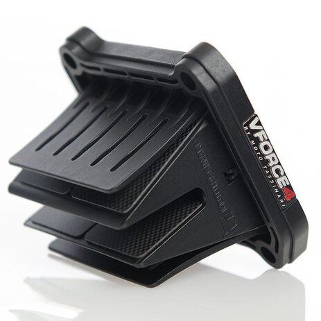 _Caja de Láminas Carbono V-Force 4 Yamaha YZ 125 05-07 | V4R04 | Greenland MX_