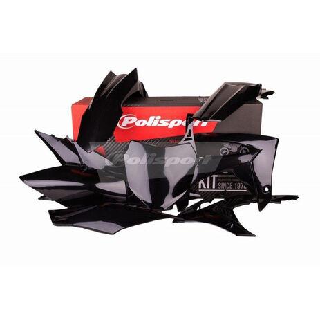 _Kit Plásticos Polisport Honda CRF 250 R 14-17 CRF 450 R 13-16 Negro | 90562 | Greenland MX_
