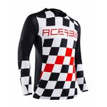 _Jersey Acerbis MX Start & Finish Negro/Rojo | 0023891.323 | Greenland MX_