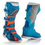 _Botas Acerbis X-Pro V Azul/Naranja | 0021596.243.00P | Greenland MX_