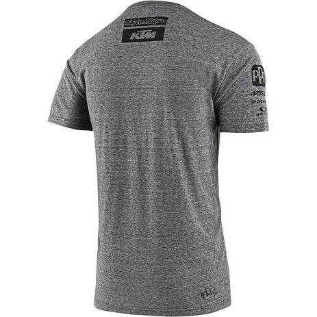 _Camiseta Troy Lee Designs KTM Team Gris | 70185601-P | Greenland MX_