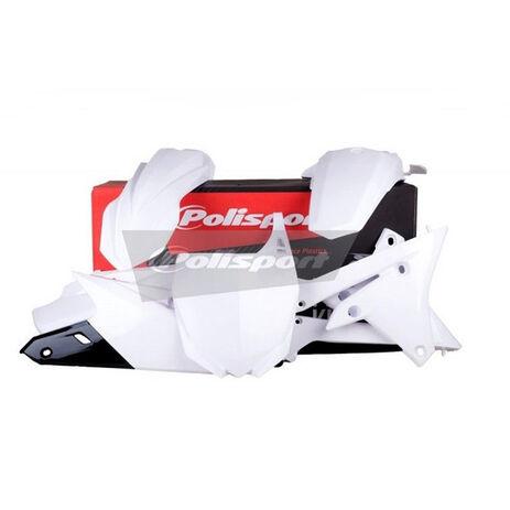 _Kit Plásticos Polisport Yamaha YZ 250 F 14-18 YZ 450 F 14-17 Blanco | 90582 | Greenland MX_