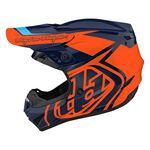 _Casco Infantil Troy Lee Designs GP Overload Azul Marino/Naranja   104252003-P   Greenland MX_