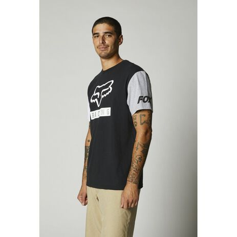 _Camiseta Fox Paddox Contrast Negro | 26993-001-P | Greenland MX_