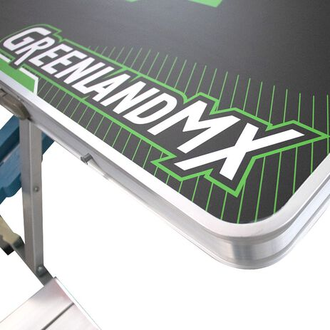 _Mesa Plegable de Paddock con 4 Asientos GMX | GK-CP-KT | Greenland MX_