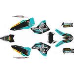 _Kit Adhesivos Completo KTM EXC/EXC-F 08-11 WESS Turquesa | SK-KTEXC0811WSTU-P | Greenland MX_