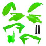 _Full Kit Plásticos Acerbis Kawasaki KX 450 F 16-17 Verde Flúor | 0021843.131-P | Greenland MX_