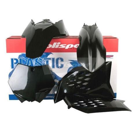 _Kit Plásticos Polisport KTM SX/SX-F 07-10 EXC /EXC-F 08-11 Negro | 90239 | Greenland MX_