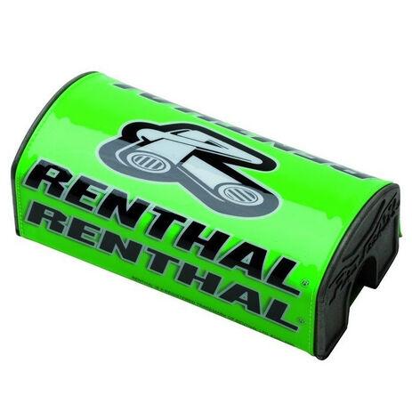 _Protector Manillar Renthal Fat Bar Verde | P282 | Greenland MX_