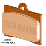 _Pastillas de Freno Delta Delanteras Aprilia 125 RS4 11-15 | DB2650 | Greenland MX_