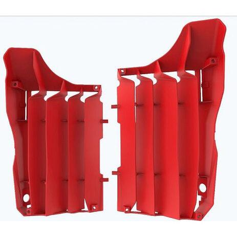 _Kit Rejillas Radiador Polisport Honda CRF 250 R 18-19 Rojo | 8464200002 | Greenland MX_