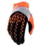 _Guantes 100% Airmatic Naranja/Negro | 10012-260 | Greenland MX_