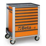 _Cajonera Móvil con 8 Cajones Beta Tools Naranja | C24S-8-O-P | Greenland MX_