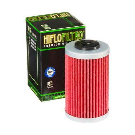 _Filtro de Aceite Hiflofiltro KTM SX-F/EXC-F 400/450/525 99-06 1º Husqvarna 701 Enduro 16-19 2º   HF155   Greenland MX_
