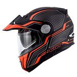 _Casco Givi X.33 Canyon Layers Negro Mate/Naranja | HX33FLYBE-P | Greenland MX_