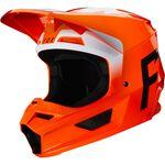 _Casco Fox V1 Werd Naranja Flúor | 25473-824 | Greenland MX_
