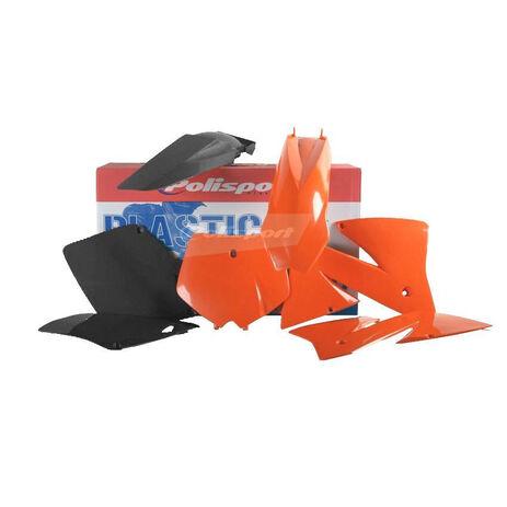 _Kit Plásticos Polisport KTM EXC 01-02 EXC-F 01-02 | 90101 | Greenland MX_