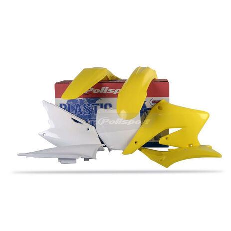 _Kit Plásticos Polisport Suzuki RMZ 250 04-06 | 90096 | Greenland MX_