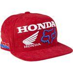 _Gorra Infantil Fox Honda HRC Rojo | 28683-122-OS-P | Greenland MX_