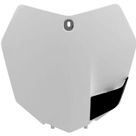 _Placa frontal polisport KTM SX/ SXF/ EXC/ EXCF 2013-14 blanco | 8659100002 | Greenland MX_