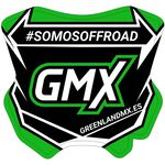 _Adhesivo Mini Placa GMX 5,5 x 5,5 cm Español | PU-MBFPES-P | Greenland MX_