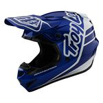_Casco Troy Lee GP Silhouette Azul Marino/Blanco | 10375700-P | Greenland MX_