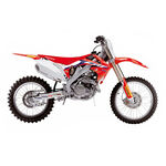 _Kit Adhesivos + Funda Asiento Blackbird Réplica Team HRC 2020 Honda CRF 250 10-13 450 09-12 | 8142R21 | Greenland MX_