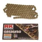 _Cadena RK GB 520 XSO Super Reforzada con Retenes 120 Pasos Serie Oro | HB752060120G | Greenland MX_