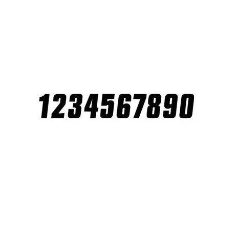 _Números Vinilo 7 # 0 Negro | TJNV0 | Greenland MX_