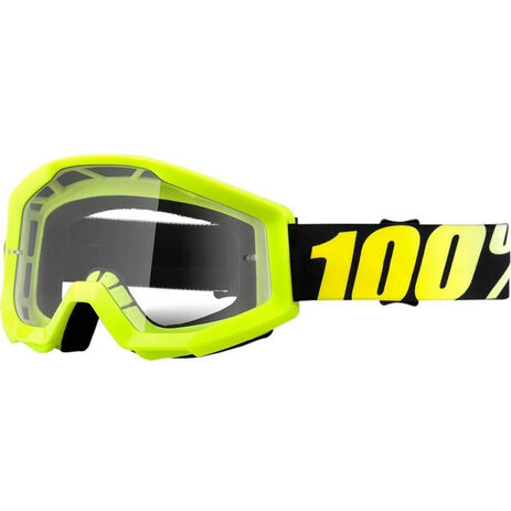 _Gafas 100% Strata Neon Amarillo Flúor   50400-004-02   Greenland MX_