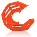 _Protector Disco Delantero Acerbis X-Future Naranja Flúor | 0024328.011.016-P | Greenland MX_