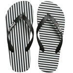 _Chanclas Fox Jail Break Negro/Blanco | 21243-018-P | Greenland MX_