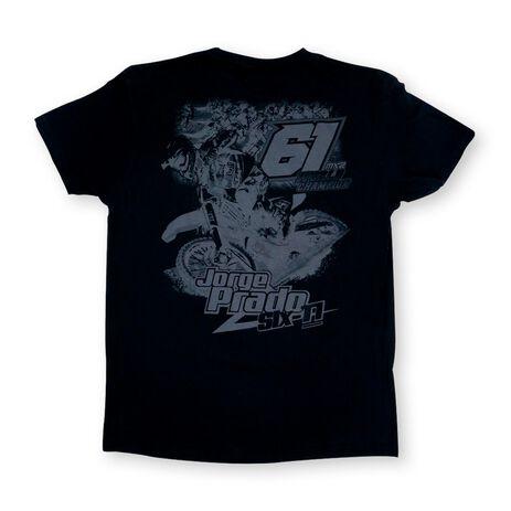 _Camiseta Jorge Prado Action Negra | JP61-200BK | Greenland MX_