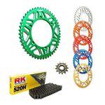 _Kit Transmisión KTM EXC/SX 83-.. Husq FC/FE 14-.. RK-Gnerik Alum-Gnerik | KT-C117 | Greenland MX_