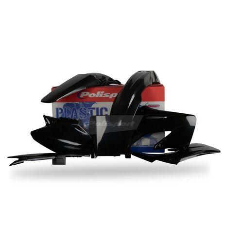 _Kit Plásticos Polisport Honda CR 125/ 250 02-07 Negro | 90192 | Greenland MX_
