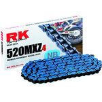 _Cadena RK 520 MXZ4 Super Reforzada 120 Pasos Azul | TC-RKMXZ4BL | Greenland MX_