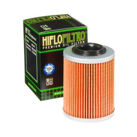 _Filtro de Aceite Hiflofiltro Aprilia/Bombardier/Can-Am ATV | HF152 | Greenland MX_