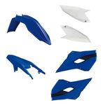 _Kit Plásticos Race Tech Husaberg TE/FE 13-14 Azul/Blanco | RTKITHBG-OEM-400 | Greenland MX_