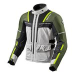 _Chaqueta Rev'it Offtrack Plata/Verde | FJT265-4080 | Greenland MX_