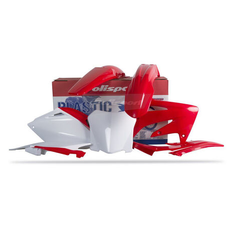_Kit Plásticos Polisport Honda CRF 250 08 | 90142 | Greenland MX_