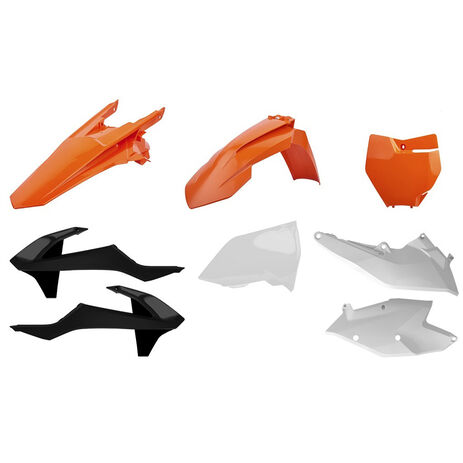 _Kit Plásticos Polisport KTM EXC/EXC-F 17-18 OEM | 90751 | Greenland MX_