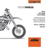 _DVD Manual de Reparación KTM 50 SX Mini 09-19 | 3206341 | Greenland MX_
