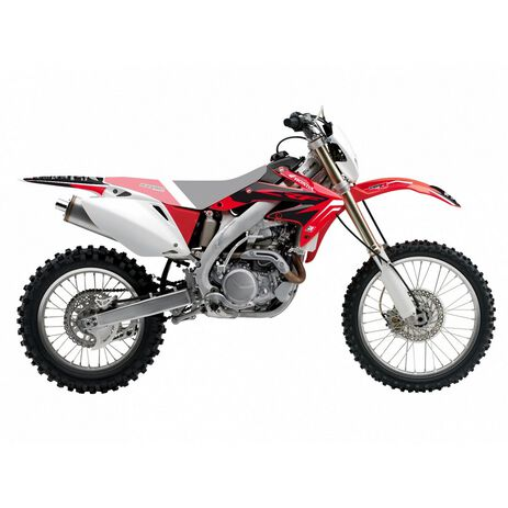 _Kit Adhesivos Blackbird Dream 4 Honda CRF 450 X 04-16 | 2143N | Greenland MX_